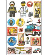 Lego Epoxy Stickers, Emergency