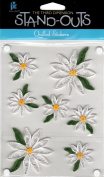 Daisy Garden Stand-Outs Quilled Scrapbook Stickers