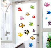 Toprate(TM) Under the Sea Tropical Fish Nursery Kids Room Wall Art Sticker Decals