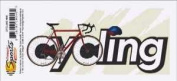 Cycling Bicycle Rub-on for Scrapbooking
