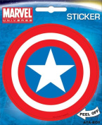 Captain America Shield Marvel Comics Die Cut Vinyl Sticker Decal