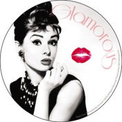Audrey Hepburn - Kiss - Die Cut Vinyl Sticker Decal