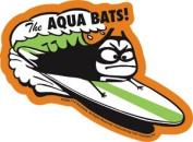 The Aquabats - Surf Bat - Die Cut Vinyl Sticker Decal