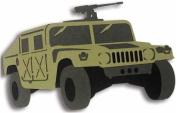 Army & Marines Laser Cut Equipment - Humvee / Green