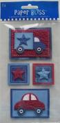 Westrim Paper Bliss Embellishments - Boy Toys