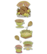 A Touch Of Jolees Dimensional Stickers - Thanksgiving Feast