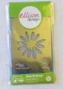 Ellison Design, Easy Emboss, Flower Daisy #2