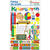 Making The Grade Dimensional Stickers 11cm x 15cm Sheet
