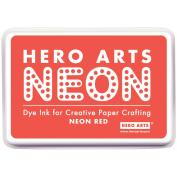 Hero Arts Neon Ink Pad-Red