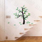 [Green Growing Tree] Decorative Wall Stickers Appliques Decals Wall Decor Home Decor