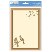 The Paper Company, 2009206, Brown Bird A7 Invite
