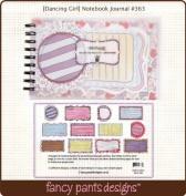 Dancing Girl 5x8 Spiral Notebook