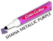 ColorCutter - Cut & Colour Finished Edges at the Same Time - Shaina Metallic Purple