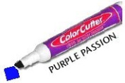 ColorCutter - Cut & Colour Finished Edges at the Same Time - Purple Passion