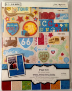 Colorbok Travel the World Scrapbook Page Kit