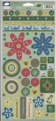 Max's Backyard Nature Cardstock Scrapbook Stickers