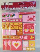 Valentine Foam Decorative Stickers-1 sheet