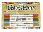 Ranger Ink Tim Holtz Distress Marker - 5 Marker Set, Memories Past