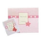 Baby's First Year Keepsake Stamp Pad Calendar in Pink