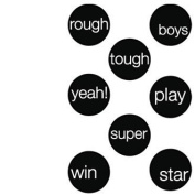 My Sentiments Exactly Clear Rubber Stamps-Boy Dots