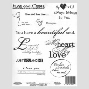 """Love Quotes"" - Scrap Book, Arts & Craft Adhesive Vellum."
