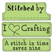 Inkadinkado Mini Cling Rubber Stamp, Craft Room Expressions