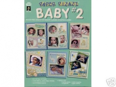 16 Baby #2 Papers Scrapbooking