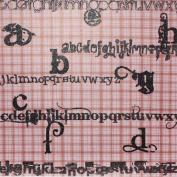 Robin'S Nest The Glitter Letters Cardstock