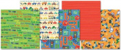 Happy Wheels Premium Paper Pad 20cm x 20cm - 12 Sheets