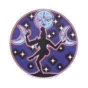 Moon Dance Decorative Sticker Decal By Mikio Kennedy