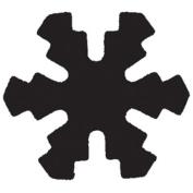 Punch Bunch Medium Punch-Snowflake
