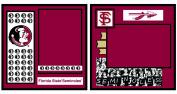 UNIFORMED Florida State University 2-Page Layout Decorative Paper, 30cm by 30cm
