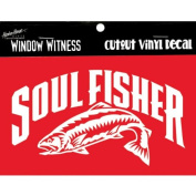 Christian Fish Soul Fisher Auto Car Decal