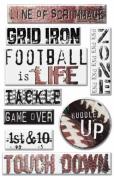 Art Warehouse Epoxy Stickers - Football Collection