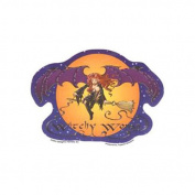Witchy Woman Decorative Sticker Decal By Delight's Fantasy Art