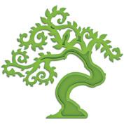 Spellbinders Shapeabilities Die D-Lites-Bonsai Tree