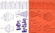 Unmounted Rubber Stamps - Birthday