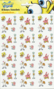SPONGEBOB SQUAREPANTS STICKERS (1 PACK - 60 STICKERS) NICKELODEON