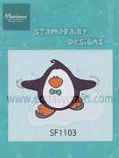 Ecstasy Crafts Stampfairy Cling Stamp - Penguin