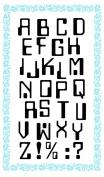 Alphabet - Digital // Clear stamps pack (10cm x 18cm ) FLONZ