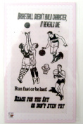 Basketball // Clear stamps pack (10cm x 18cm ) FLONZ
