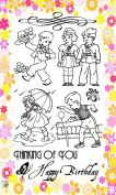 Young Soldiers // Clear stamps pack (10cm x 18cm ) FLONZ