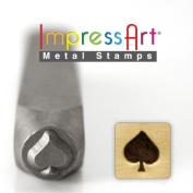 ImpressArt- 6mm, Spades Design Stamp