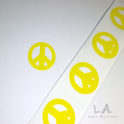Peace Sign Tanning Bed Stickers 200 Pack
