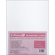 Copic Markers 22cm by 28cm Blending Card by X-Press It, 25 Sheets