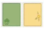 Sizzix Textured Impressions 2-Pack Embossing Folders