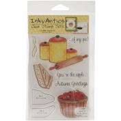 Honeypop Clear Stamp Set-Apple Pie