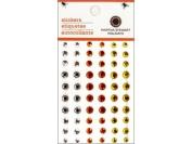 Martha Stewart Crafts Halloween Candy Corn Gemstones
