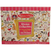 Art Essentials for Girls Sticker Set - 10 themed pages with over 700 stickers