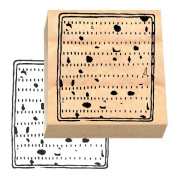 Ruth's Jewish Stamps Wood Mounted Rubber Stamp - Matzo